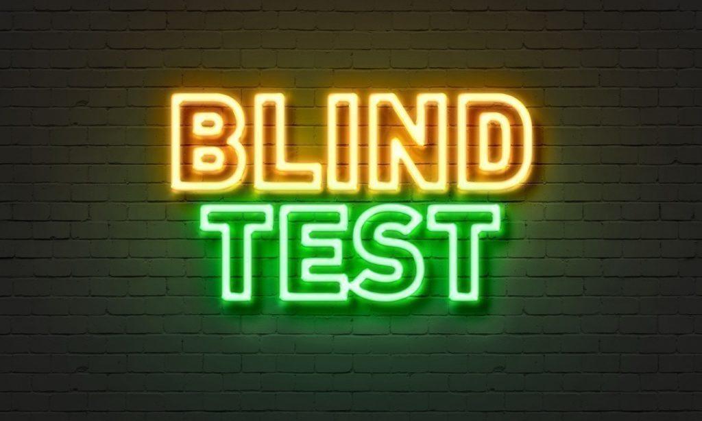 Nouveau Quiz disponible : Le 100 % Blindtest